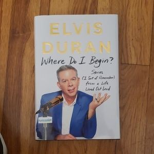 Book.  Elvis Duran: Where Do I Begin?